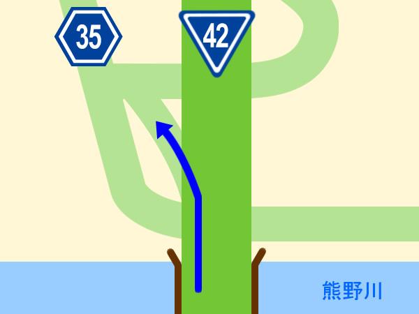 大阪方面からのマップ1
